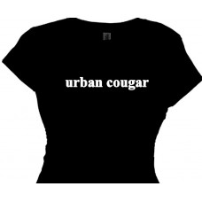 Urban Cougar - Cougar Lady Tee Shirts